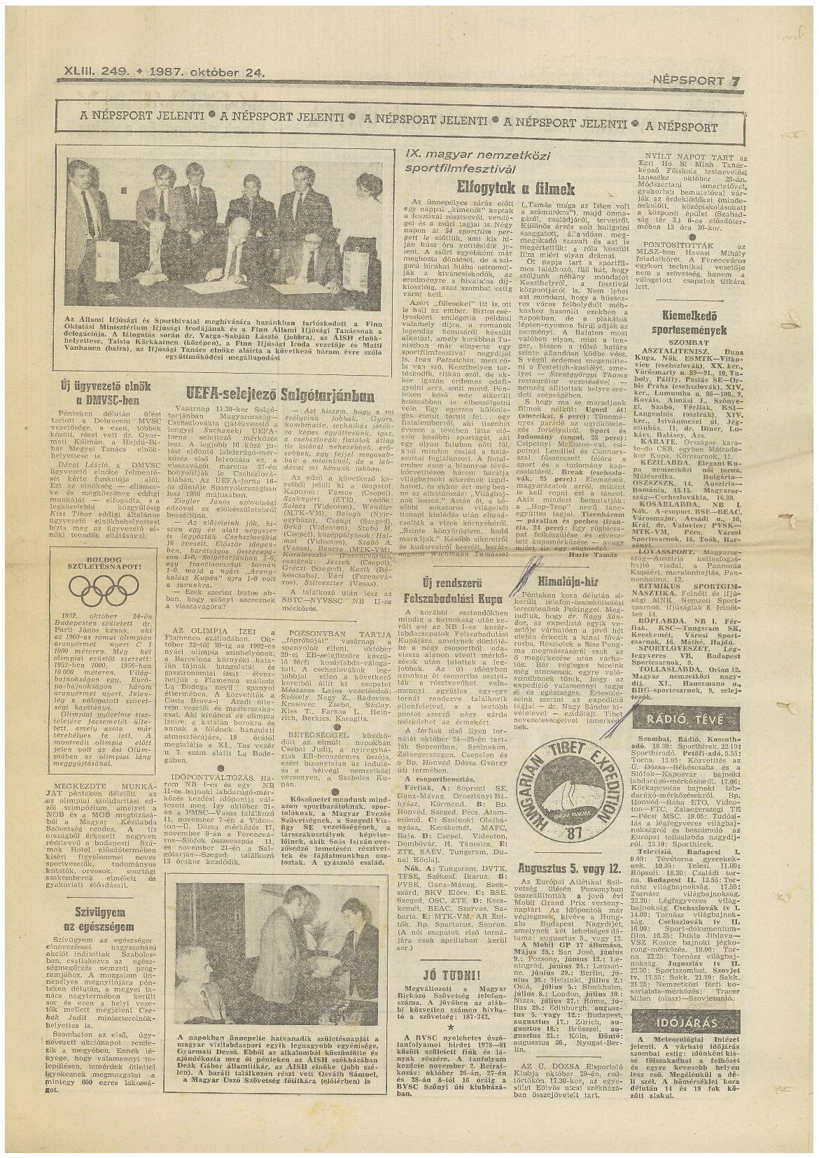 Népsport 1987.X.24.