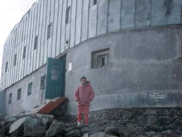 Az Elbrusznál a Priljut 11 Pistivel