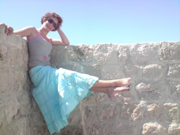 Akrobata a várban