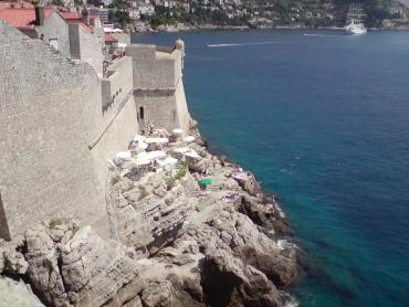 Dubrovnik, a várfal