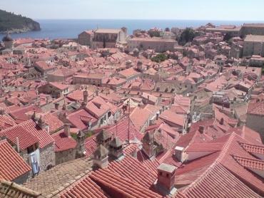 Dubrovnik fentről