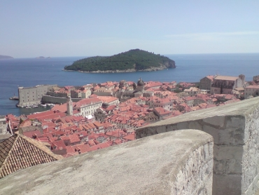 Dubrovnik,várfal