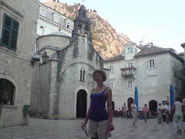 Kis templom Kotorban