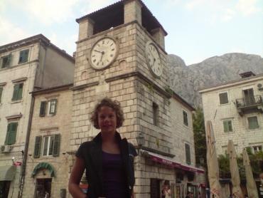 Kotor városában Csenge