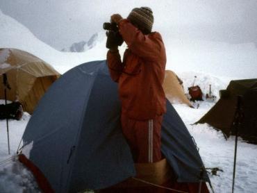 Tábor 6000-méteren a Platón