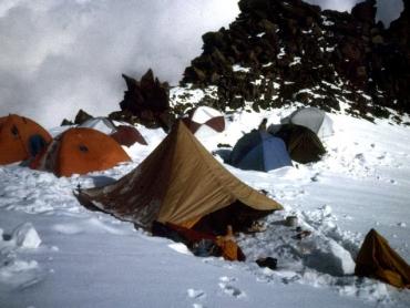 Táborhely 7000-méteren