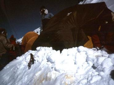 Tábor, a negyedik, 6500 méteren