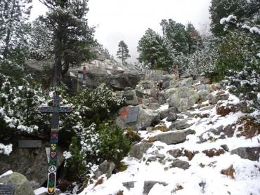 Szimbolikus hegymászó temető 2