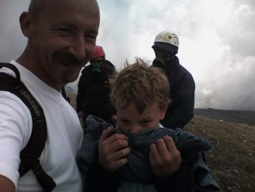 Az Etna tetején