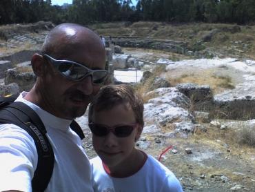 Mi Siracusában,Amfiteátrum