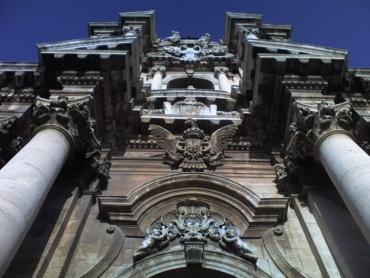 Siracusa, templom homlokzat
