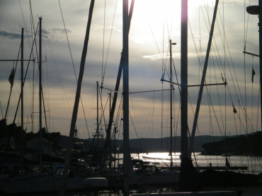 Hajók Milnában